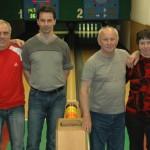 Kuželkářský klub Orel Telnice – družstvo A – výsledky sezony 2014/2015