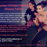 Zumba strong / Tabata nově na Orlovně