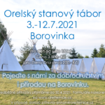 Léto na Borovince – Orelský tábor 2021